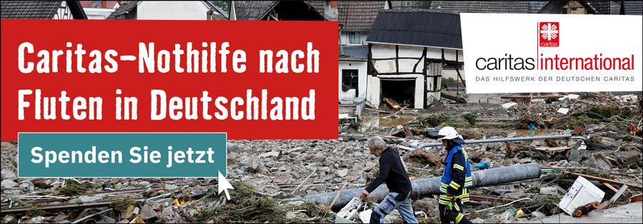 Gemeinsame Caritas-Nothilfe in Deutschland