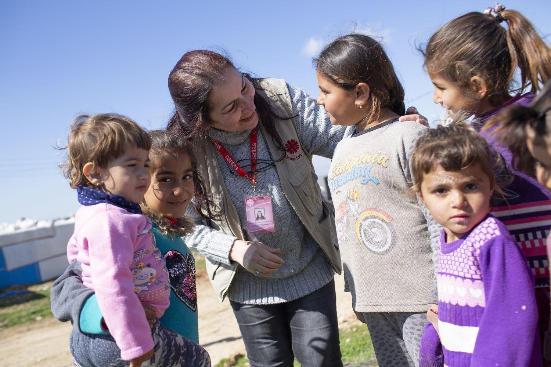 Hilfe für Binnenvertriebene im Irak